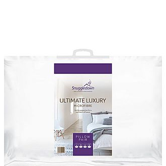 Ultimate Luxury Microfiber Blend Pillow Pair