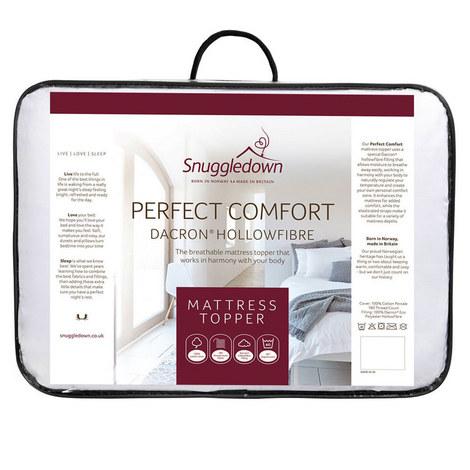 Perfect Comfort Dacron Hollowfibre Topper, ${color}