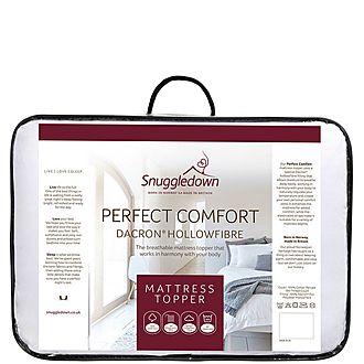 Perfect Comfort Dacron Hollowfibre Topper