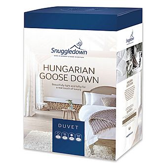 Hungarian Goose Down 13.5 Tog Duvet