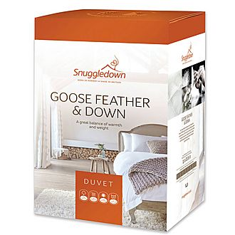 All Seasons Goose Feather and Down Duvet