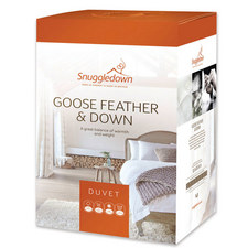 Goose Feather and Down Duvet