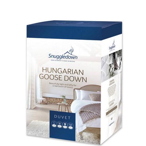 Hungarian Goose Down Duvet All Seasons, ${color}