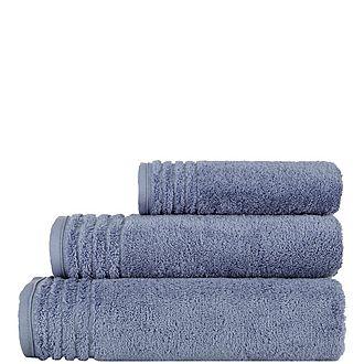 Vienna Towel Smoke Blue