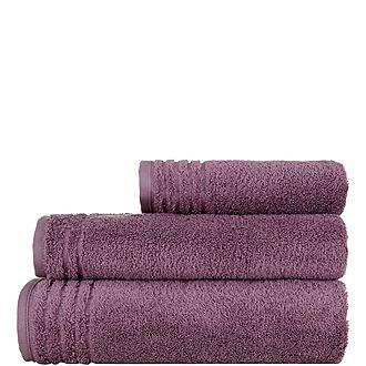 Vienna Towel Plum