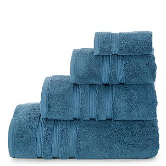 Opulence Towel Dark Blue