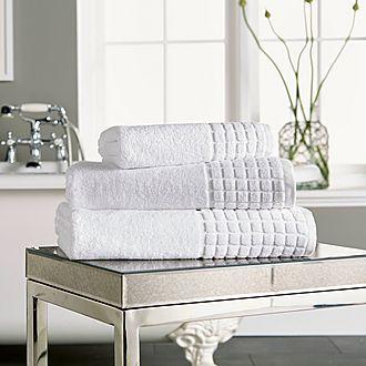 Hotel Combed Bath Towel