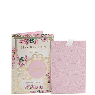 Herbes Sauvages Scented Card