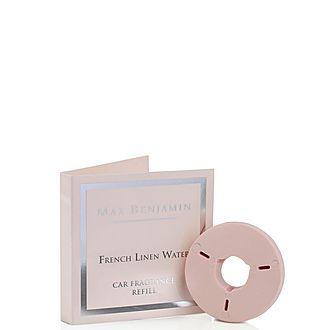 French Linen Luxury Car Fragrance Refill 2.1g