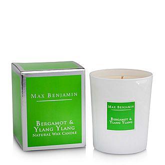 Bergamot & Ylang Ylang Scented Candle