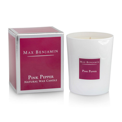 Pink Pepper Scented Candle, ${color}