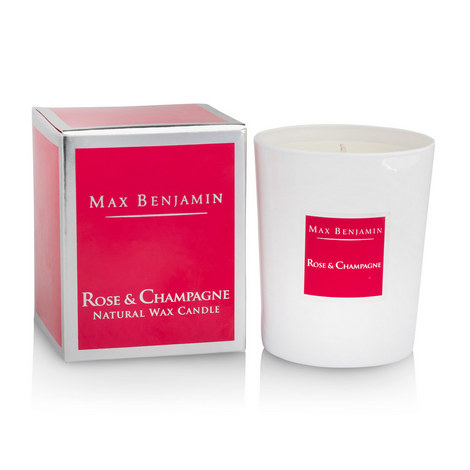 Rose & Champagne Scented Candle, ${color}