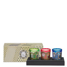 Set of Three Holiday Candles 70g