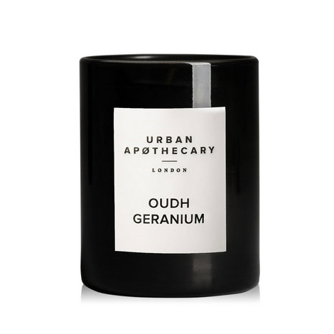 Oudh Geranium Scented Candle 300g, ${color}
