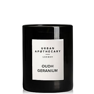 Oudh Geranium Scented Candle 300g