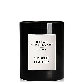 Smoked Leather Scented Candle 300g