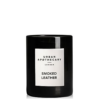 Smoked Leather Scented Candle 70g