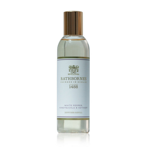 White Pepper, Honeysuckle and Vetiver Diffuser Refill, ${color}