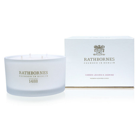 Cassis Leaves and Jasmine Scented Candle, ${color}