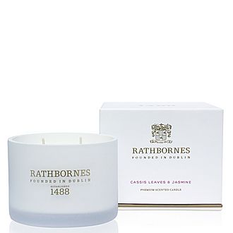 Cassis Leaves and Jasmine Classic Scented Candle