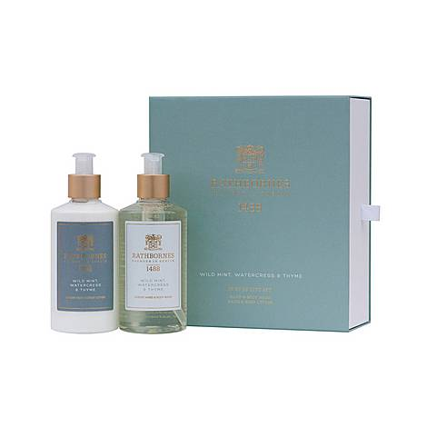 Body Care Gift Set Wild Mint, ${color}