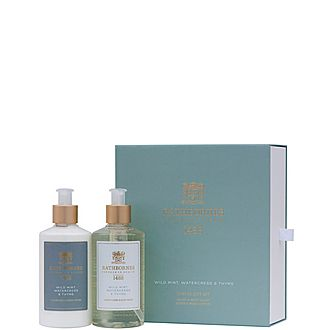 Body Care Gift Set Wild Mint