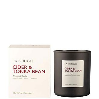 Cider And Tonka Bean Candle