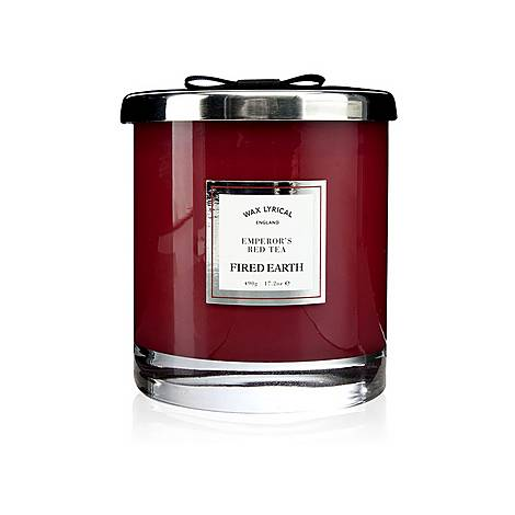 Fired Earth Emperor's Red Tea Candle 490g, ${color}