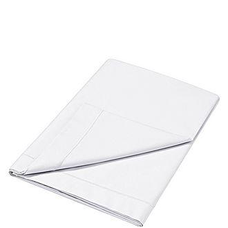 300 Thread Count Flat Sheet White