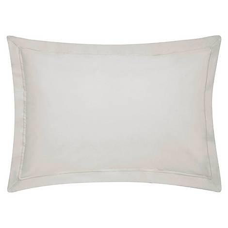 300 Thread Count Oxford Pillowcase Silver, ${color}