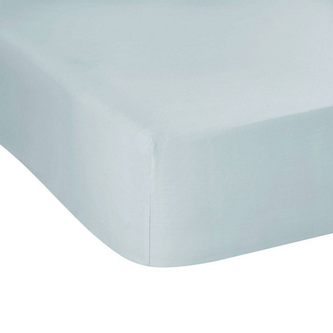 300 Thread Count Fitted Sheet Blue, ${color}