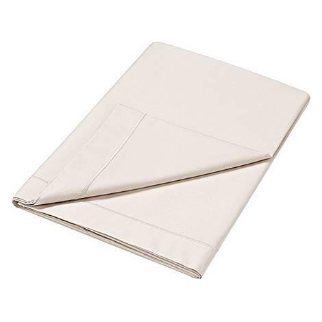 300 Thread Count Flat Sheet Cream, ${color}