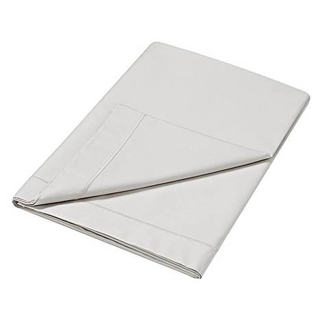 300 Thread Count Flat Sheet Silver, ${color}