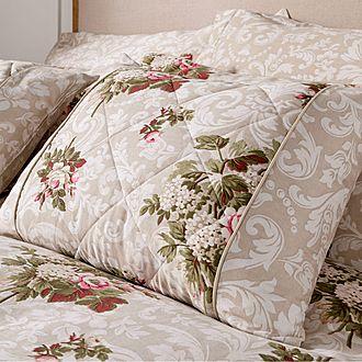 Antique Floral Cushion