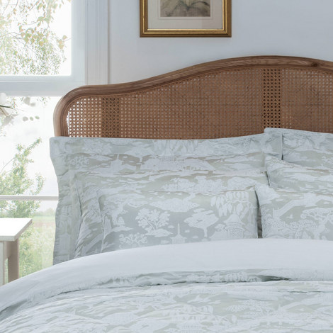 Cherry Blossom Garden Housewife Pillowcase, ${color}