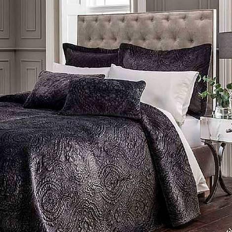 Ornate Velvet Pillowsham Grey, ${color}