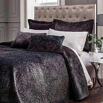 Ornate Velvet Pillowsham Grey