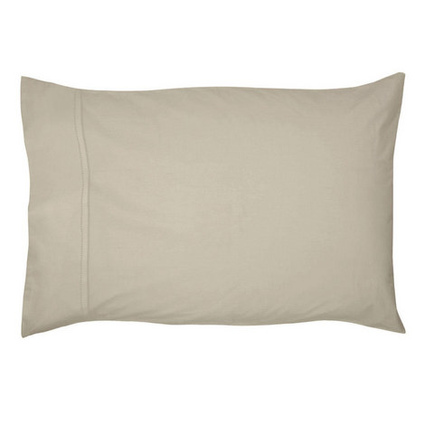 450 Thread Count Pima Cotton Housewife Pillowcase Natural, ${color}