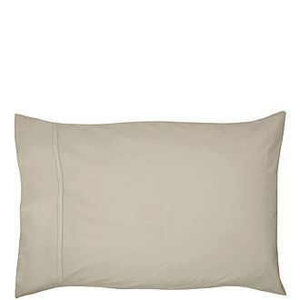 450 Thread Count Pima Cotton Housewife Pillowcase Natural