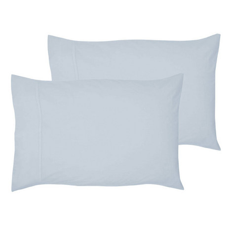 200 Thread Count Egyptian Cotton Housewife Pillowcase Blue, ${color}