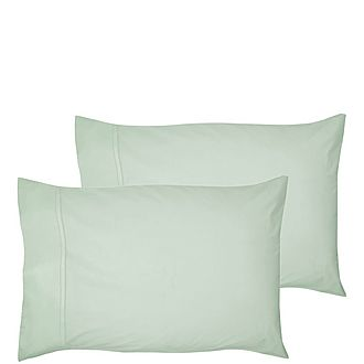 200 Thread Count Egyptian Cotton Housewife Pillowcase Light Green