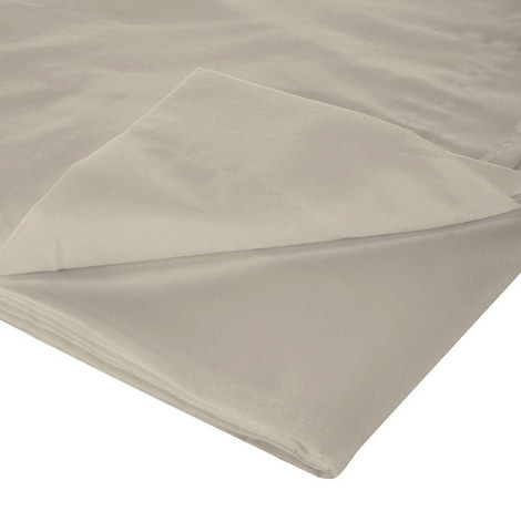 200 Thread Count Egyptian Cotton Flat Sheet Light Grey, ${color}