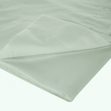 200 Thread Count Egyptian Cotton Flat Sheet Light Green, ${color}