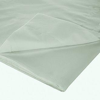 200 Thread Count Egyptian Cotton Flat Sheet Light Green