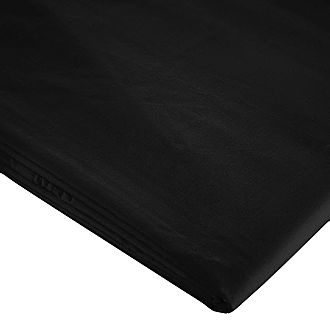200 Thread Count Egyptian Cotton Fitted Sheet Black