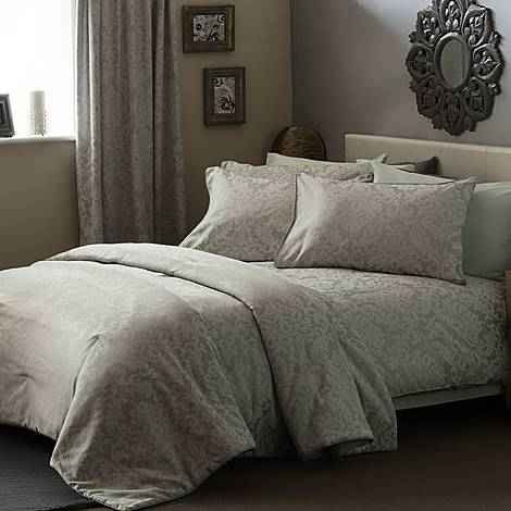 Bromley Duvet Cover Set White, ${color}