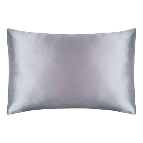 Mulberry Silk 500 Pillowcase Platinum, ${color}