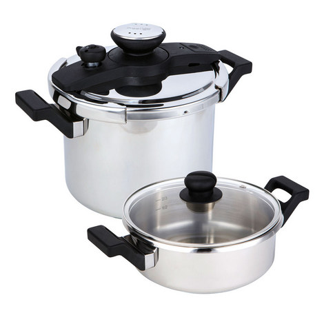 4-Piece Pressure Cooker Set, ${color}