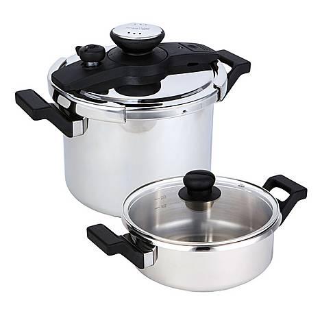 4-Piece Pressure Cooker Set, ${color}