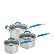 Quick & Even Three-Piece Saucepan Set
